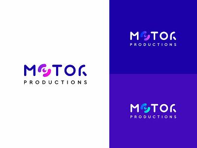 The logo for Motor Production, version 4 minimal icon vector logodesign logo graphic  design design