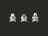 Astromech Droid Icons