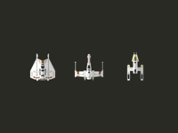 Rebel Fighter Icons