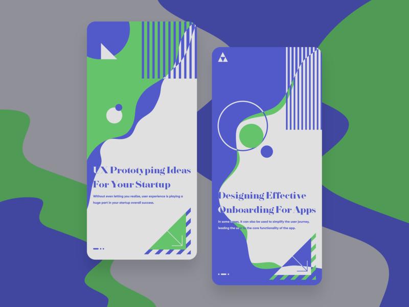 Startup App ios screen launch screen mobile app design mobile mobile ui uxdesign uxui ui clean typography minimal concept bauhaus
