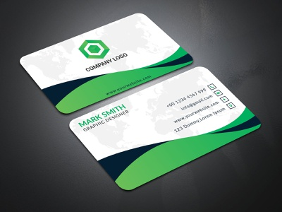 Business Card Template Design trendy office creative design print design package design graphicdesign template vectors stationery flyer design logo identity colorful simple professional design creative corporate business card branding