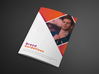 Landscape Brochure Design legal law information indesign indd grey flat design creative corporate company colorful clean business brochure atsar architect advertising advertise advert