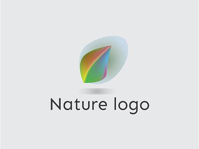 Nature Logo Design print beautiful vector business card design professional modern green personal illustration identity colorful corporate eco logo planting nature logo logo simple creative branding