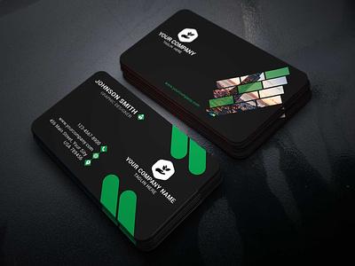 Corporate Business card Design calender development clean stylish flat beautiful print personal modern illustration identity colorful simple professional logo design creative corporate business card branding