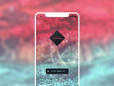Tuk Stuk Studio naming mobile 3d cinema 4d c4d web user inteface uidesign material logotype logo branding brand