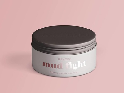 Branding Mockup for Mud Fight