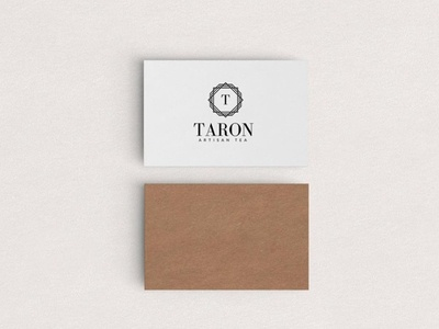 Branding for Taron Artisan Tea