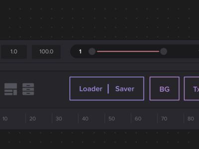 Blackmagic Fusion UI