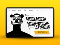 Moskauer! Modewoche — main screen