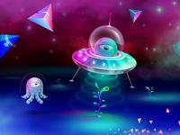 Aliens playground