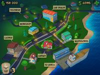 """""""Car Tunes"""" Game menu-map"""