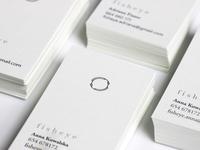 Fisheye business card