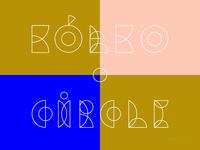 Kółko / Circle font