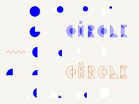 Kółko / components of typeface