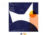 Composition 1 / orange