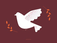 Dove of peace / illustration
