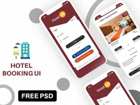 Hotel Booking App with iPhone X Compatible