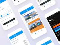 Hotel Booking app for Mobile UI