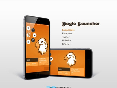 Eagle Home Launcher mobile psd mobile app ios profile vector logo user profile design register template flight booking app app apps application booking app psd app free psd android