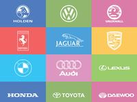 Branded Car Logos