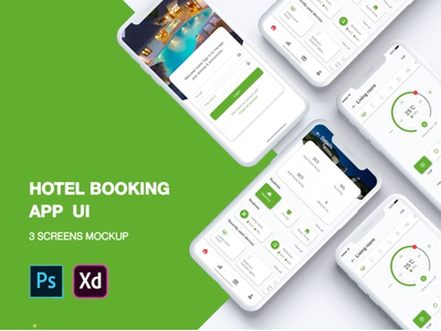 New Hotel booking Ui concept design ui profile flight booking app user profile app apps application booking app psd ios app free psd android