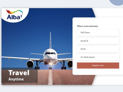 New Modern Website Login Page Templat PSD