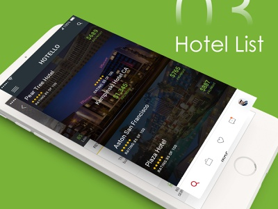 Free Hotel Booking App PSD profile flight booking app user profile booking app app app apps application psd ios android free psd