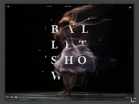 Ballet show page