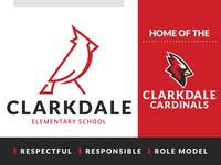 Clarkdale Elementary School Logo Set