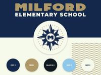 Milford Elementary School Logo