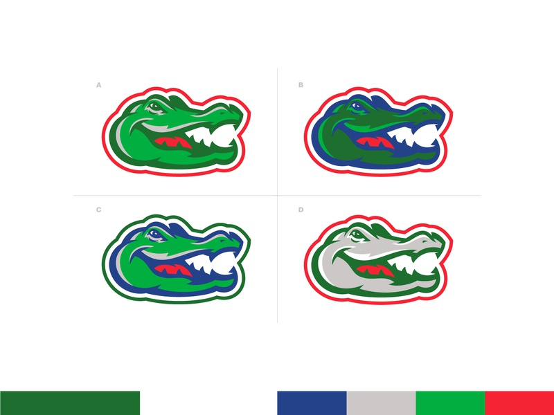 Gators Mascot feedback wip sports school illustration logo alligator mascot sport florida gator