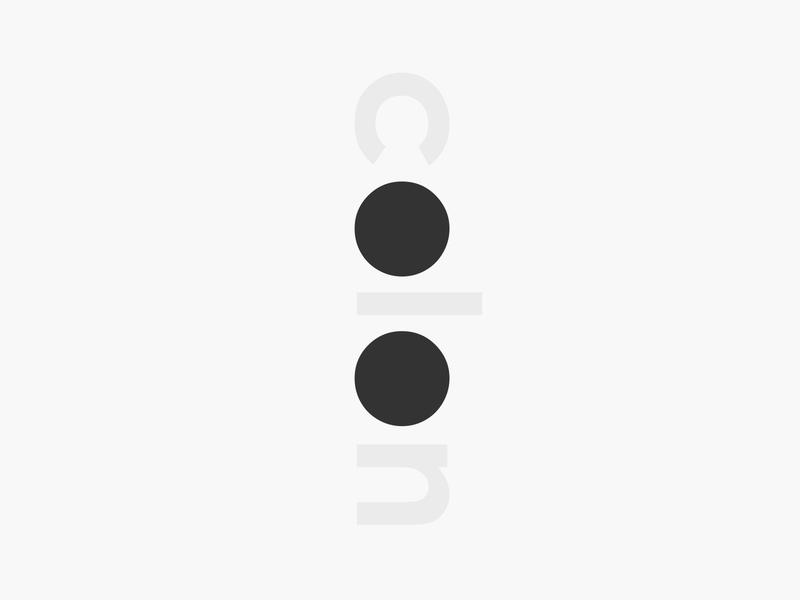 colon wordmark logotype wordmark typography flat vector design simple logo clean coding code punctuation sign mark colon