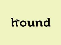 Hound wordmark