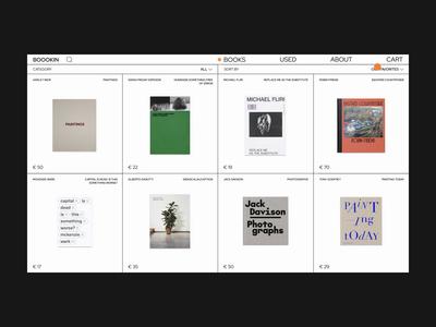 Design of a bookstore market bookstore bookshop books uxdesign animation homepage uidesign website design