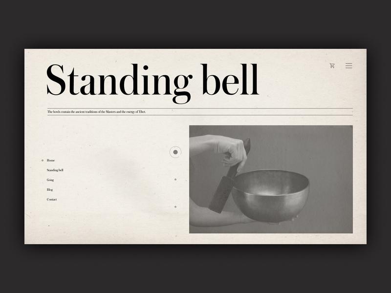 Standing bell Store Design