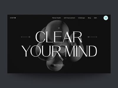 Start Point Design challenges improvement mental health health yoga uxdesign homepage uidesign website design