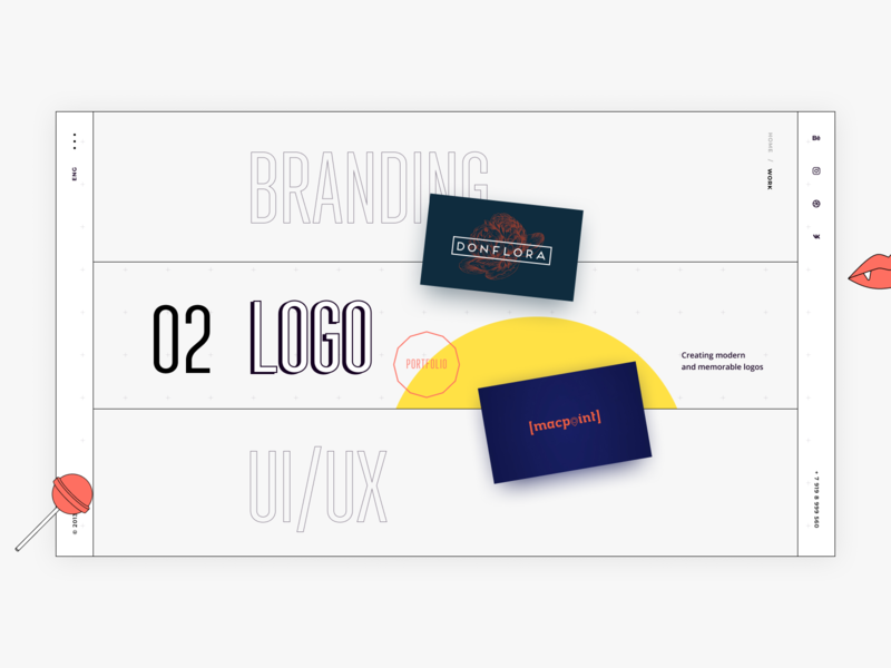 Branding Service Design Part 3 logos portfolio branding agency branding branding design homepage websitedevelopment uxdesign uidesign website design