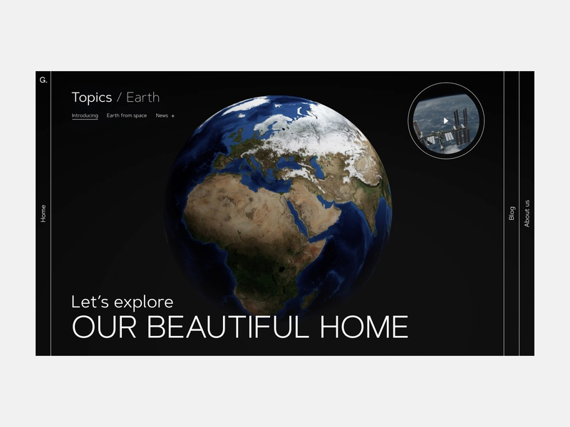 Evolutionary Design | Part 4 explore space earth natural science nature science uidesign website design