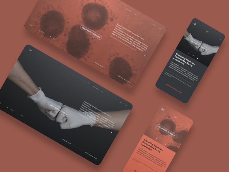 VolunteerMatch Redesign pandemic coronavirus covid19 volunteering helping redesign homepage uidesign website design