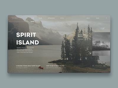 Spirit Islands Design   Part 1 excursion attraction nature tour island tourism canada uxdesign mobile design homepage website design uidesign
