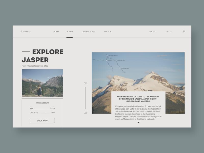 Spirit Islands Design | Part 3 trip canada tourism tour websitedevelopment uidesign website design