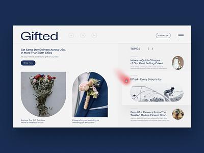 Flower delivery Design flower store flower delivery mobile design uxdesign website design uidesign
