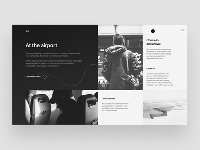 American Airlines Redesign airplane airport airline redesign uxdesign homepage website design uidesign