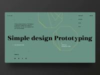 Simple Design Shot