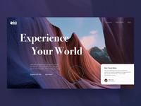 🦌Concept Rei.com - Landing Page