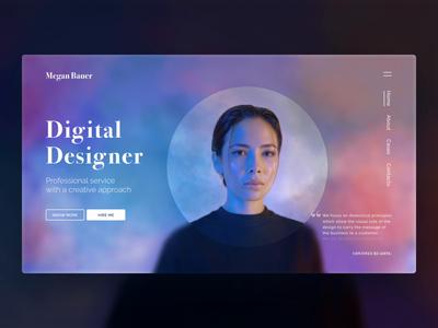 🧚♂️Digital Designer - Concept site