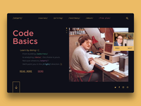 💾Code Basics - Site Concept