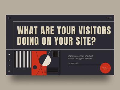 🎨Kandinsky last project - Doing on your website? websitedevelopment experimental design type typography digital agency uidesign concept abstractionism