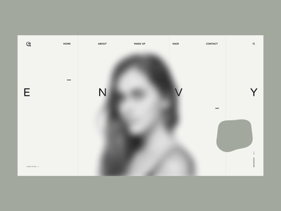 ENVY - beauty studio website