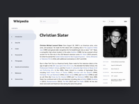 🌐 Redesign for Wikipedia 🌐
